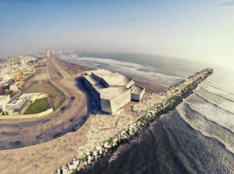 Construyen recinto cultural de vanguardia en Boca del Río