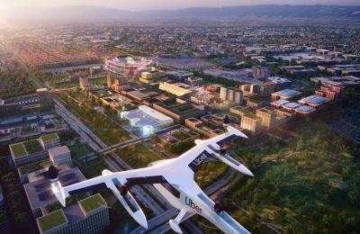 Foster + Partners diseña puerto aéreo para Uber Elevate en California