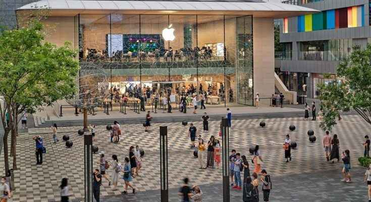 Foster + Partners inaugura nueva Apple Store en Pekín