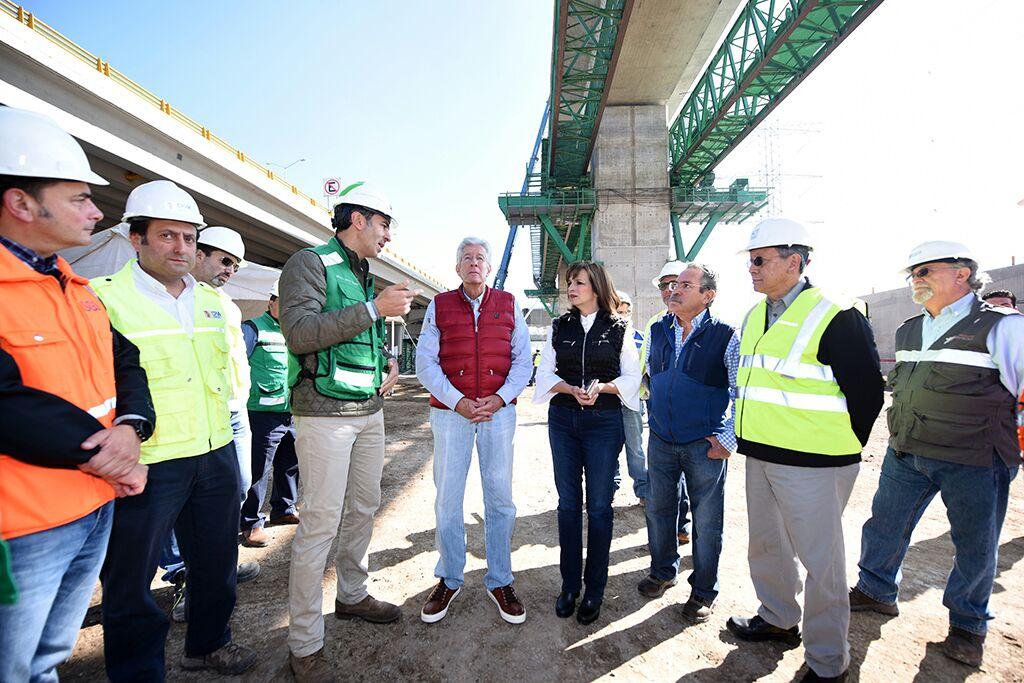 Avanza en tiempo y forma construcción del Tren México-Toluca