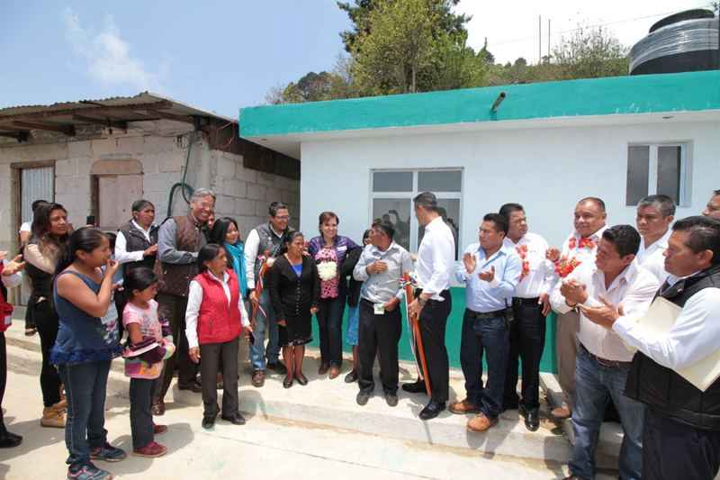 Prevé Sedatu 5,000 acciones de vivienda en Oaxaca