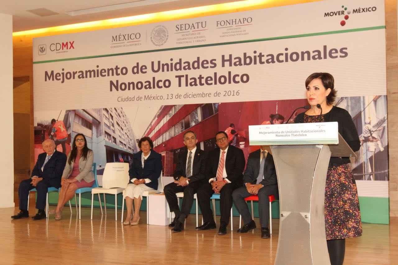 Rehabilitarán Unidad Habitacional Nonoalco-Tlatelolco