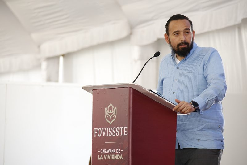 Fovissste entregará crédito en pesos-Agustín Rodríguez