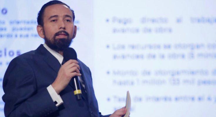 """Fovissste lanzará """"Construyes tu casa"""" para impulsar autoproducción de vivienda-Agustín Rodríguez-1"""