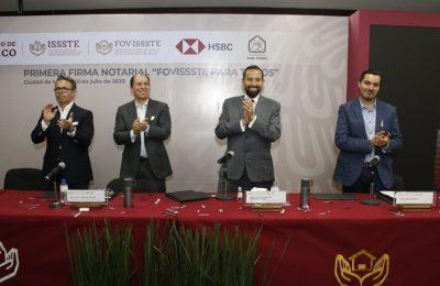 Fovissste y HSBC lanzan financiamiento más barato del mercado
