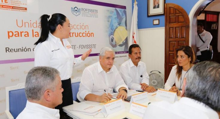 Derechohabientes afectados por el sismo recibirán 900 millones de Fovissste