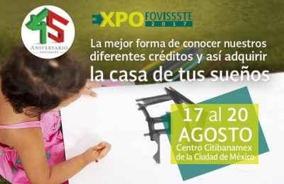 Preparan la Expo Fovissste 2017