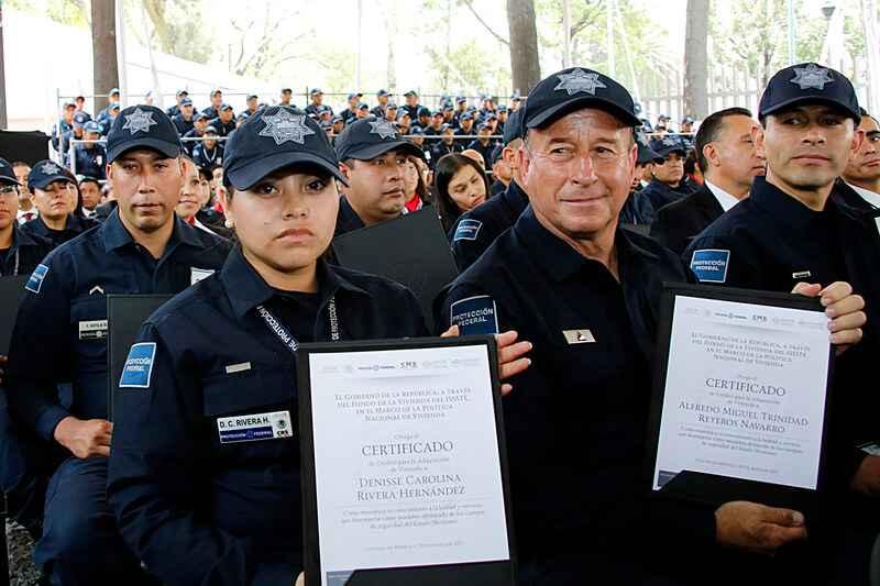 Entregar 3,000 créditos a policias, objetivo de Fovissste