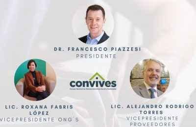 Francesco Piazzesi será el nuevo presidente de Convives-Convives