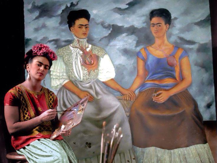 A partir de su obra célebre 'Las dos Fridas' se exponen documentos, fotografías y otras pinturas que guían al público por el viaje de Frida Kahlo y Marcel Duchamp