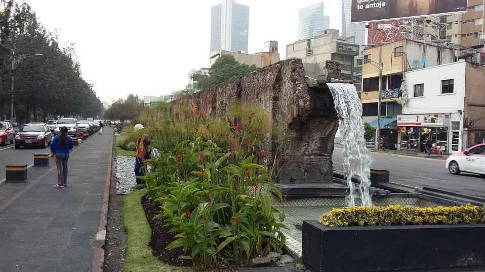 Concluyen rehabilitación de fuentes en la Ciudad de México