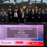 Funo celebra 10 años en la Bolsa Mexicana de Valores