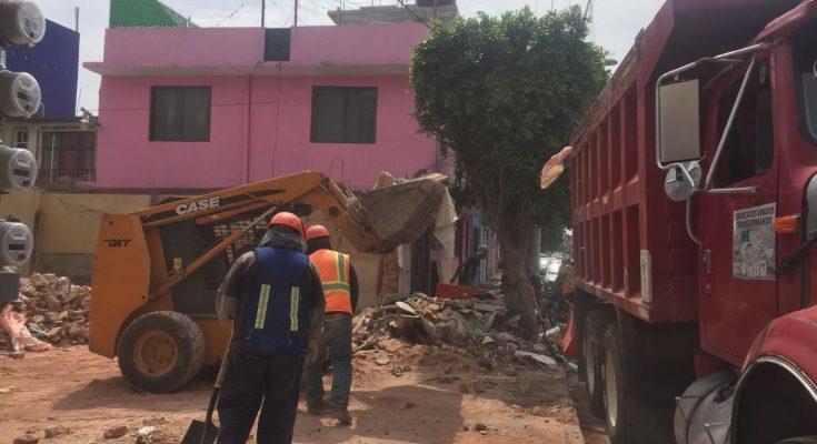 Concluye demolición de casa en Gustavo A. Madero