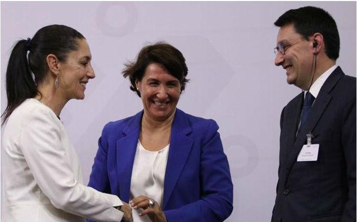 GCDMX busca cooperación francesa en proyectos capitalinos