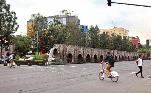 GCDMX implementa programa Sembrando Parques en Av. Chapultepec