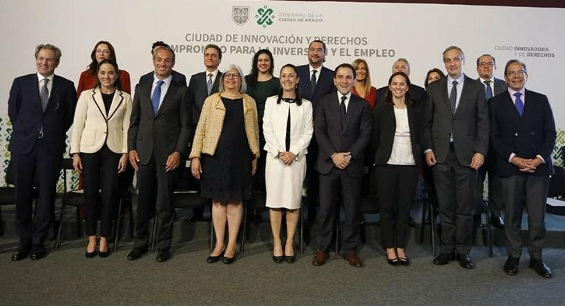 GCDMX y sector privado en alianza para impulsar economía