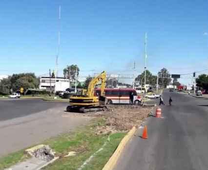 Gobierno del Edomex construye Distribuidor Vial en Jilotepec