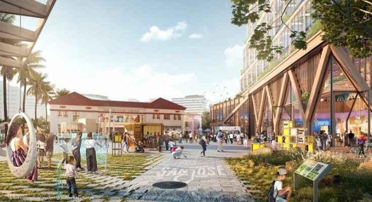 Google presenta diseño del campus corporativo Downtown West