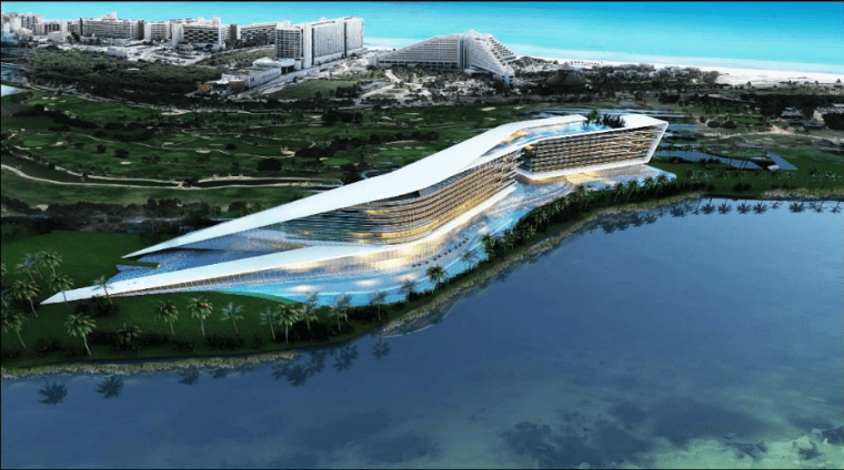 Aprueban construcción de mega hotel Grand Island Cancún