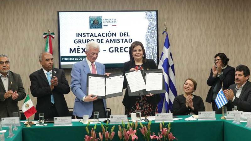 Grecia y México van por protección de bienes culturales