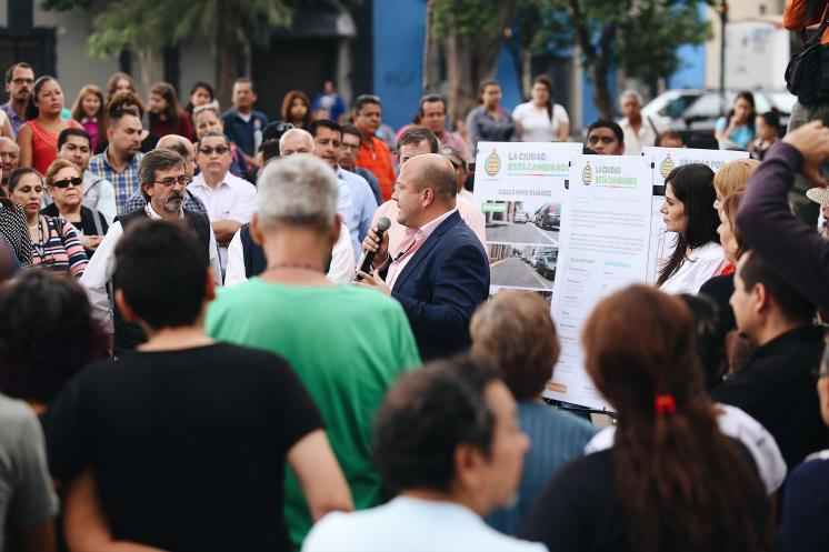 Alcaldia de Guadalajara entregó obras de pavimentación
