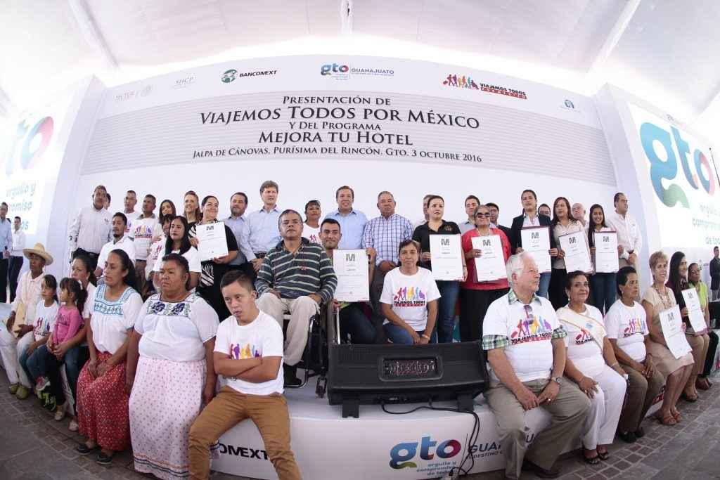 Guanajuato se integra a Mejora tu Hotel y VTPM