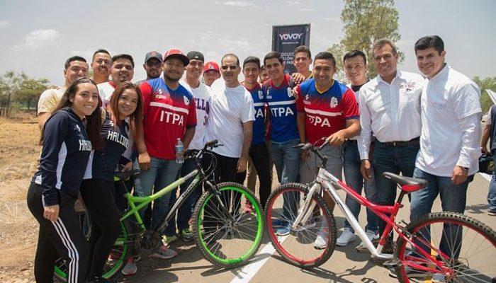 Guanajuato contempla 45 km de ciclovías para finales de 2019