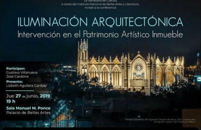 Gustavo Villanueva presenta ponencia sobre iluminación arquitectónica