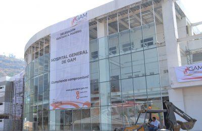 Registran avance en construcción de hospital en Cuautepec