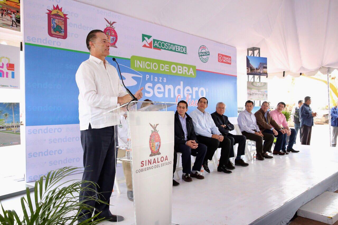 Inicia construcción de Plaza Sendero Culiacán