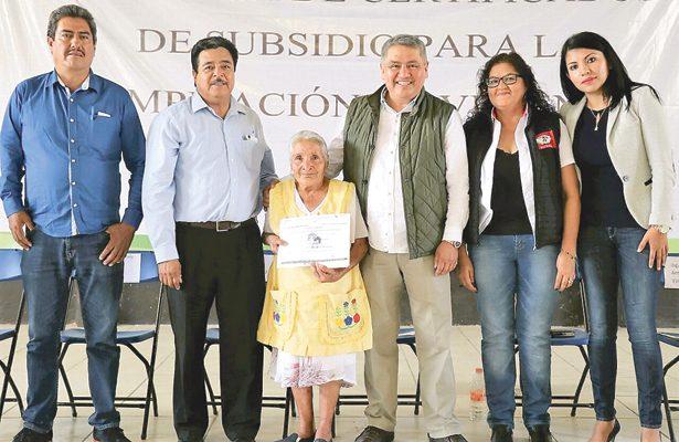 Fonhapo impulsa apoyo para mejora de viviendas en Hidalgo