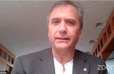 Honorato Carrasco toma protesta como presidente del CAM-SAM