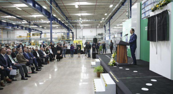 Inauguraron segunda planta de la empresa Mann+Hummel