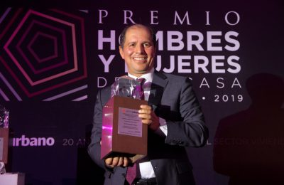 Reconocen labor de Enrique Margain en el sector con el Premio HyM 2019