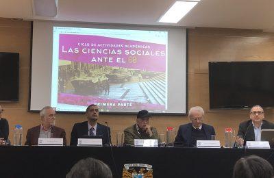 Discuten académicos eventos ocurridos en 1968
