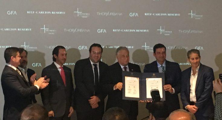 Invierten Thor Urbana y Mota Engil 150 mdd en un Ritz-Carlton Reserve