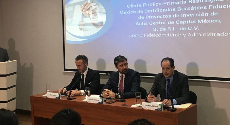 Actis invertirá en infraestructura energética con Cerpi en la Bolsa