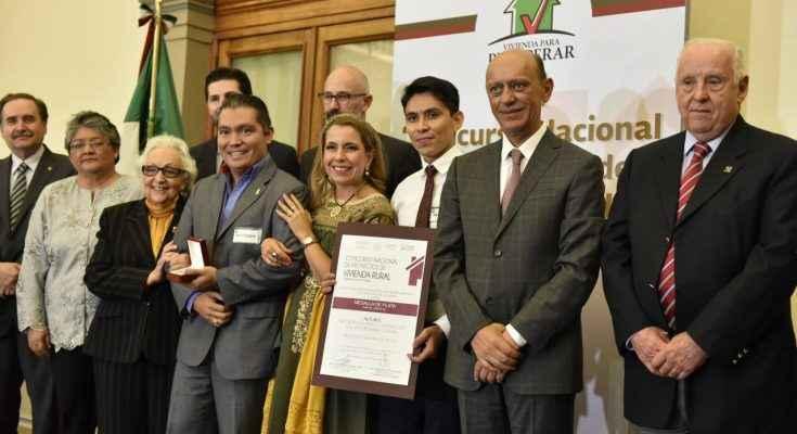 Entregan Sedatu y Conavi premios a Proyectos de Vivienda Rural
