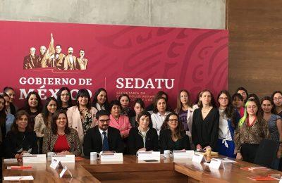 Busca Sedatu recuperar territorio con perspectiva de género
