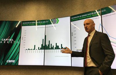 Crece sector inmobiliario a diferentes ritmos: CBRE