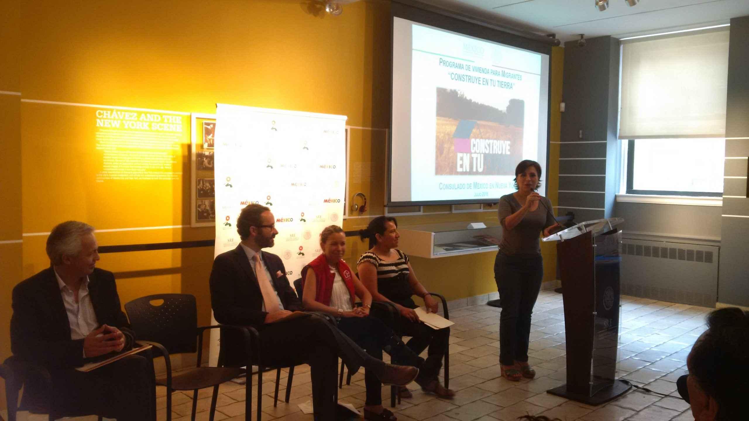 Promueven en NY esquema de vivienda para migrantes
