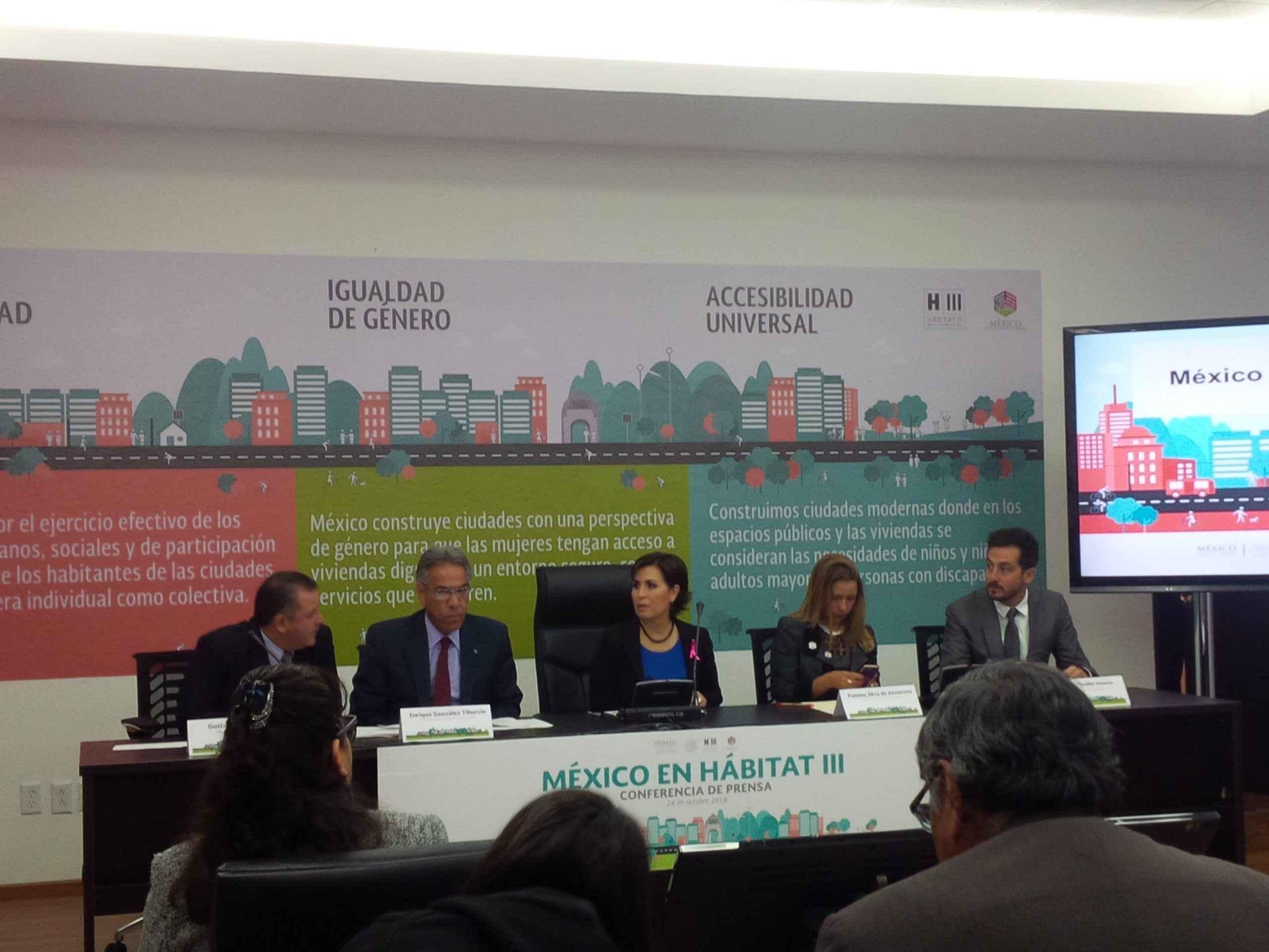 México con participación destacable en Habitat III