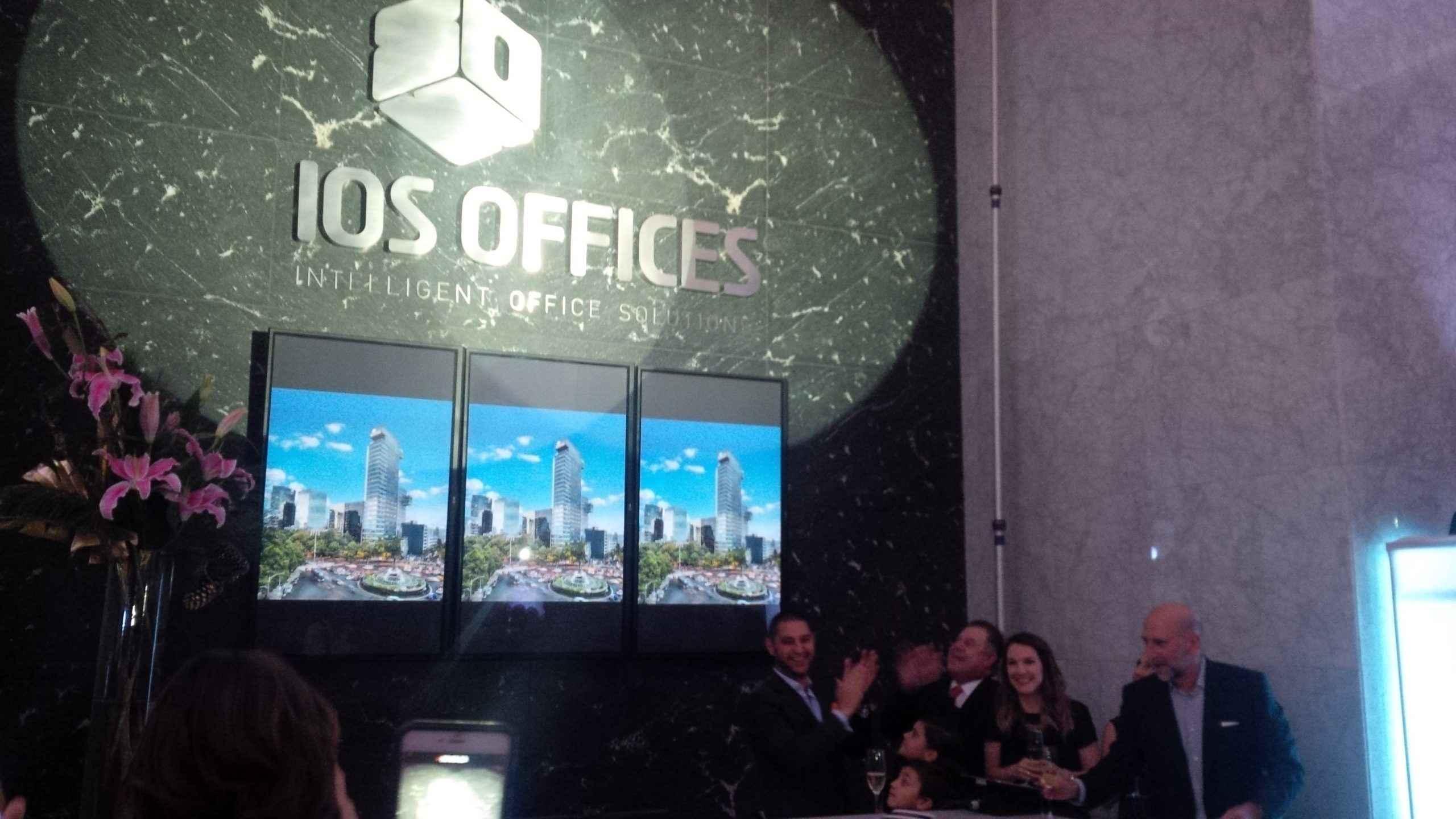 Presentan corporativo IOS Reforma Diana