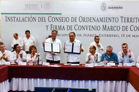 Impulsarán la correcta planeación de la obra pública en Guerrero
