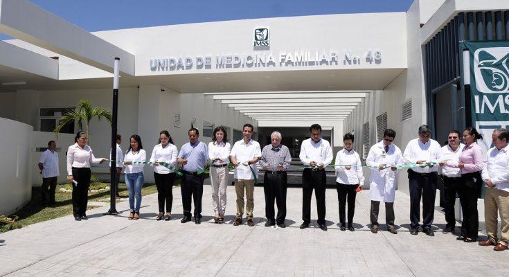 IMSS inaugura Unidad de Medicina Familiar en Nacajuca, Tabasco