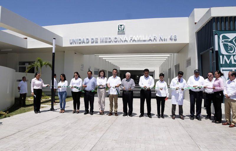 Inauguran Unidad Medica Familiar en Tabasco