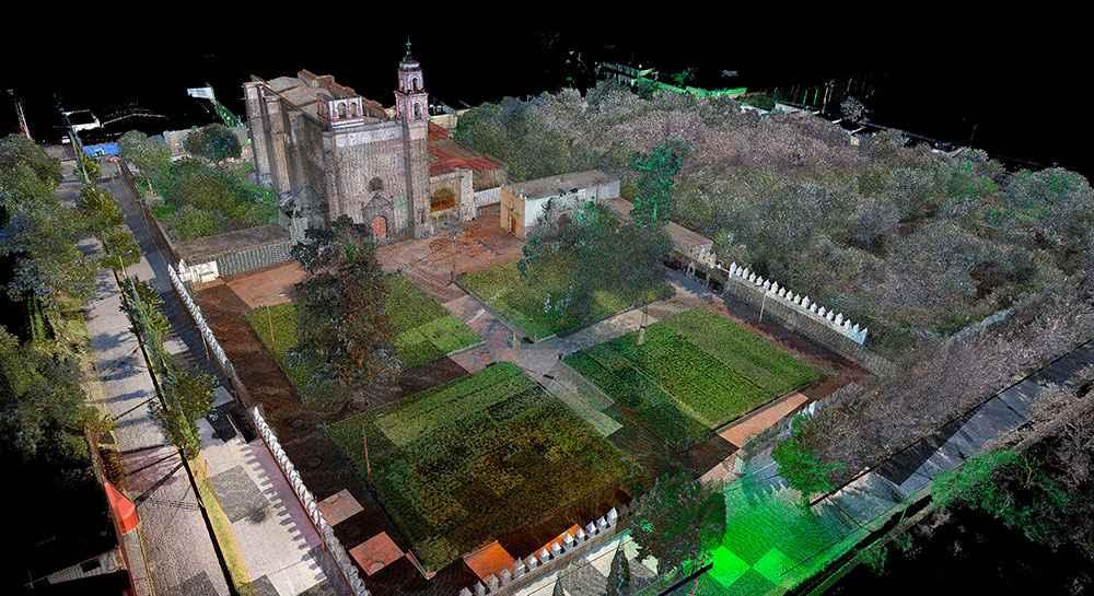 INAH constituye acervo de modelos 3D del patrimonio arquitectónico