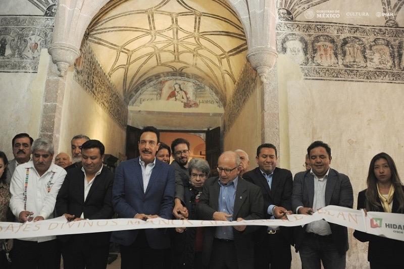 INAH inaugura exposición 'Mensajes divinos, manos que los revelan'