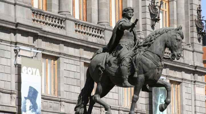 """INAH rehabilitará la escultura """"El Caballito"""""""