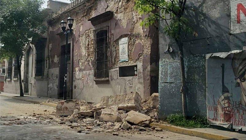 INAH reporta daños en 55 inmuebles patrimoniales de Oaxaca